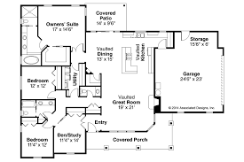 Ranch Style House Plan Beds Baths Sq Ft Plan Shaped    L Shaped Ranch House Floor Plans On House Plan Rear Elevation