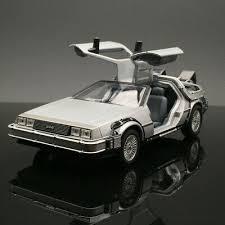 <b>Welly 1/24</b> Delorean diecast car model in <b>movie</b> Back to the Future I ...