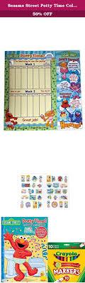 přes 1000 nápadů na téma elmo potty na u učení na nočník sesame street potty time coloring activity book over 30 reward stickers a full