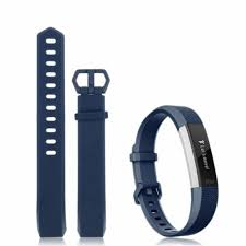 <b>Replacement Silicone Wrist Band</b> Strap With Buckle For Fitbit Alta HR