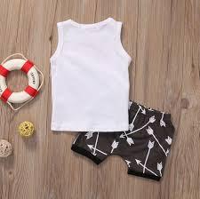Online Shop <b>Infantil Toddler Newborn</b> Kids <b>Baby</b> Boys Arrow T shirt ...