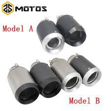 <b>ZS MOTOS 51 mm</b> Modified Motorcycle <b>Akrapovic</b> Exhaust Escape ...