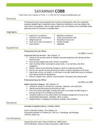 best professional security officer resume example livecareer create my resume