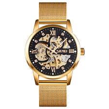 SKEMI 9199 <b>mechanical men</b> wristwatch - SKM