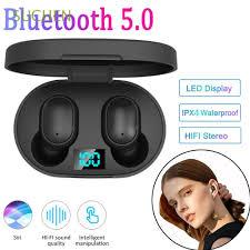 SUCHEN <b>New A6L</b> Bluetooth 5.0 <b>Headset</b> TWS <b>Wireless</b> LED ...