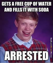 Bad luck Brian gets arrested | Bad Luck Brian via Relatably.com