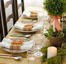 south african decor: luxury christmas table decor south africa traditional christmas dining table centerpiece
