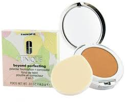 <b>Clinique Beyond Perfecting Powder</b> N09 Neutral 14.5g in duty-free ...