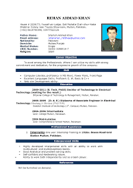 resume template word format one page sample regard to 87 appealing simple resume template word