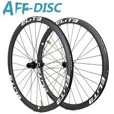 <b>Elite</b> AFF-Disc Carbon Wheels 700C Clincher <b>Road Disc Brake</b> ...