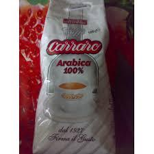 Отзывы о <b>Кофе в зернах Carraro</b> Arabica 100%