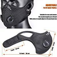 Sh.sakura <b>Dustproof</b> and Anti-Pollution <b>Mask</b>, 2 <b>Masks</b>, 6 ...
