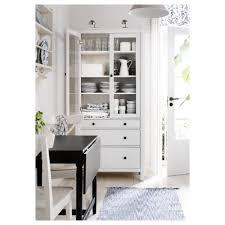hemnes glass door cabinet with 3 drawers black brown ikea big brown ikea hemnes linen