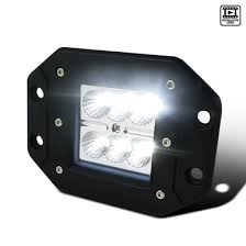 "Universal 5"" Cube <b>6-LED 18W</b> 6000K Flood Beam <b>Work</b> Light ..."