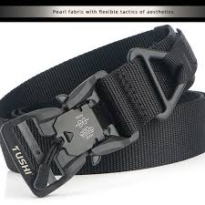 <b>Outdoor Tactical</b> Magnet Buckle Belt Multifunctional <b>Nylon Military</b> ...
