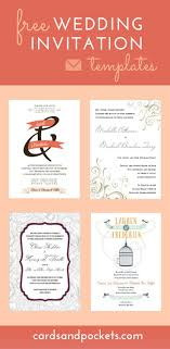17 best ideas about invitation templates these wedding invitation templates are available for brides to use and come in a