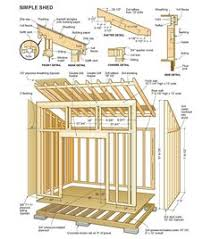 simple shed plans backyard office pod cuts