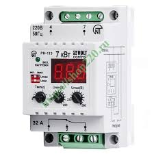 Купить Однофазное <b>реле контроля напряжения</b> РН-113 32А на ...