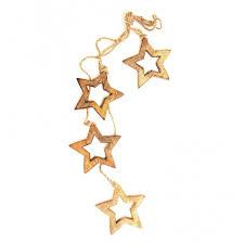 Купить <b>Гирлянда подвесная Wooden</b> Stars, 4 шт. en_ny0034 за ...