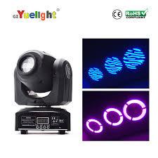 China 2019 Factory <b>Hotsale</b> LED <b>Spot</b> 30W 7gobos <b>DJ</b> Disco Mini ...