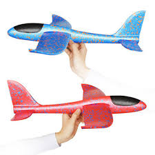 <b>35cm</b> big size <b>hand launch throwing</b> aircraft airplane glider diy ...
