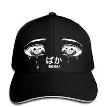 Бейсбольная кепка аниме глаза мужские бейсбольные кепки ...