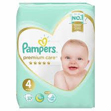 <b>Подгузники Pampers Premium</b> Care Maxi 4 (9-14 кг) 37 шт - купить ...
