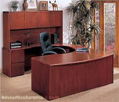gorgeous wooden office desk bina discount office furniture u shape wood office suite long amazing wood office desk