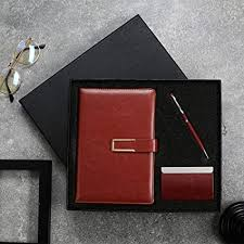 Gift for Men and Women <b>Pen Notebook</b> and <b>Business</b> Card Holder ...