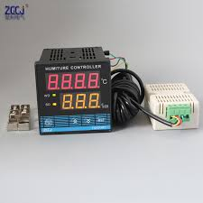Free shipping ! Digital <b>temperature and humidity controller</b> humiture ...