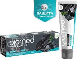 Купить <b>Зубная паста</b> Biomed <b>White</b> Complex Антибактериальная ...