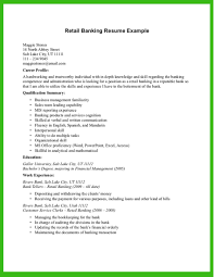 resume examples retail