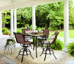 Jaclyn Smith Marion <b>5</b>-<b>Piece High</b> Dining Patio Set