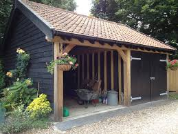 timber garage cartlodge timber garage cartlodge bespoke brickwork garage office