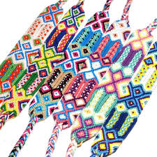 Braided <b>Bracelet</b> Fashion <b>Bohemian</b> National <b>Handmade Rainbow</b> ...