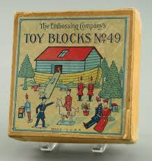 Alphabet <b>block</b>:<b>Toy Blocks</b> No.49 - The Embossing Company ...