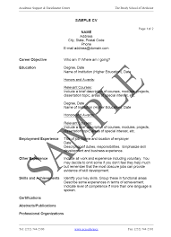 12 cv sample for students sendletters info curriculum vitae how to write a cv