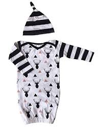 Newborn Baby 100% Cotton Outfit Deer One Piece ... - Amazon.com