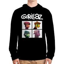 """<b>Толстовка с полной</b> запечаткой """"Gorillaz"""" от geekbox - <b>Printio</b>"""