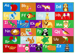 <b>Коврик</b> New <b>Multi</b> Color Alphabet Educational / Road Map ...