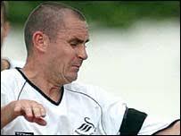 Swansea's Paul Reid. Reid has struggled for a first team place at Swansea - _38990721_paul_reid_203