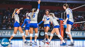 First day of the 2019 NCAA women's <b>volleyball tournament</b> - YouTube
