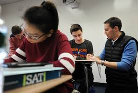 greenwich students get ready to take the new sat greenwichtime