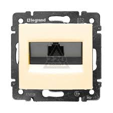 Компьютерные <b>розетки</b> (RJ45) скрытой установки <b>LEGRAND</b> ...