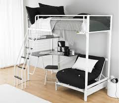 charming space saving shared bedroom decoration with various ikea white bunk bed entrancing picture of bedroomdelectable white office chair ikea