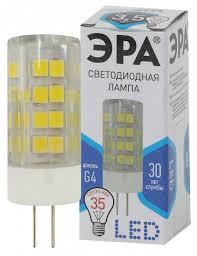 """<b>Лампа LED</b> """"капсула"""" <b>G4</b> 3.5Вт (280Лм) 4000К 230В <b>ЭРА</b> - купить ..."""