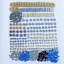 ZXZ 500 Pieces Building Blocks Bulk <b>Technic</b> Parts <b>Technic</b> Gears ...