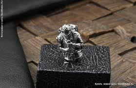 """Купить <b>Бусина</b> """"Рыцарь по игре Dark Souls"""" (Мельхиор) за 1 830 ..."""