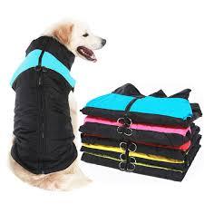 Winter <b>Pet Dog Clothes</b> Warm Big Dog Coat Puppy Clothing ...
