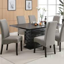 attractive high back upholstered dining amazing dining room table